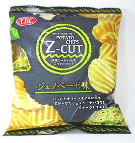 ポテトチップス Z-cut ジェノベーゼ味
