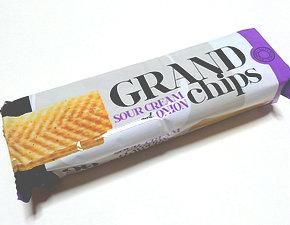 グランドチップス サワークリーム&オニオン