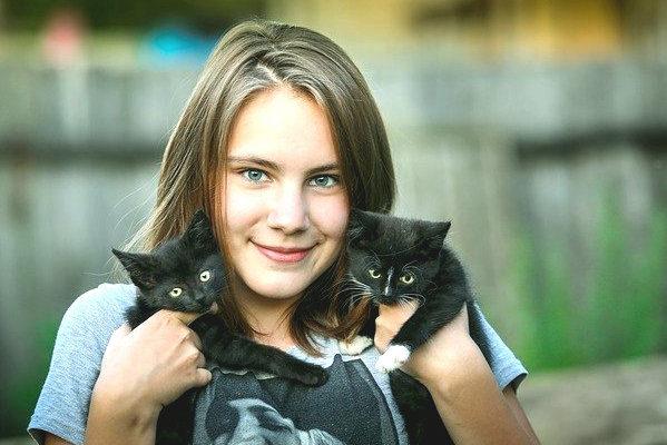 girl-cat