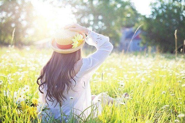 woman-sunshine
